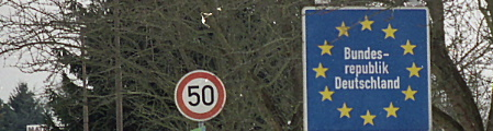 Welcome to Germany--drive over 50 and we'll kill you