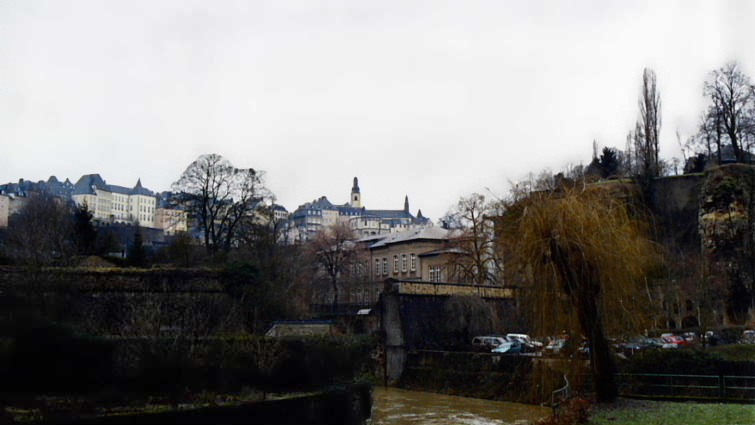 Valley of the Petrusse River, Luxembourg City