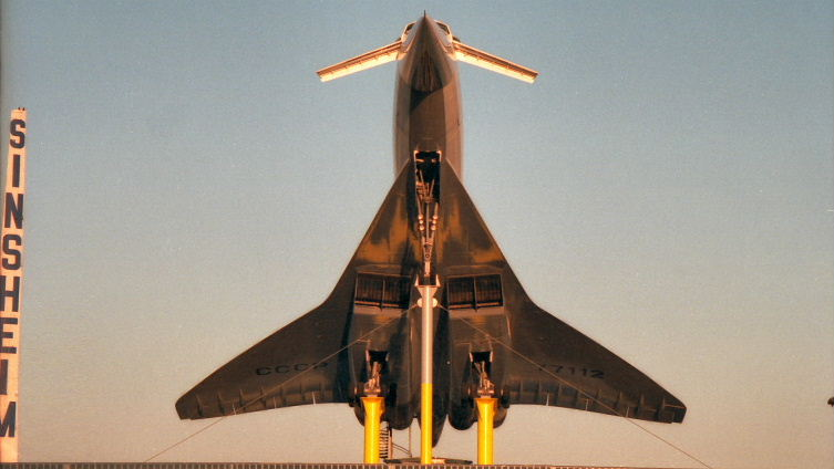 Tupelov TU-144 Russian Supersonic Airliner