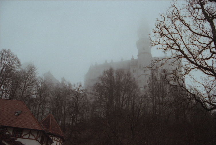 Neuschwanstein Castle, Germany, first sight
