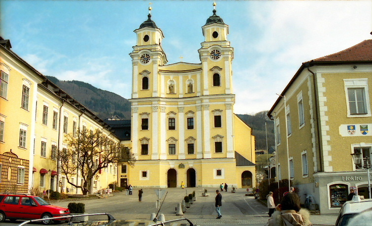 St. Michaels Church, Mondsee, Austria