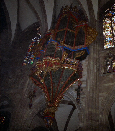 Church Organ at Strasbourg Cathedral, France>>>