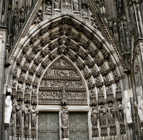 Cologne Dom, Germany, front porch