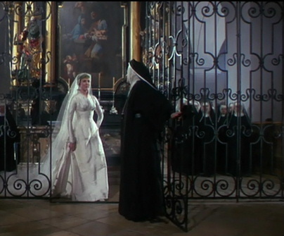 Maria being freed to marry George Von Trapp