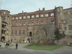 Courtyard, Heidelberg Castle, Heidelberg Germany