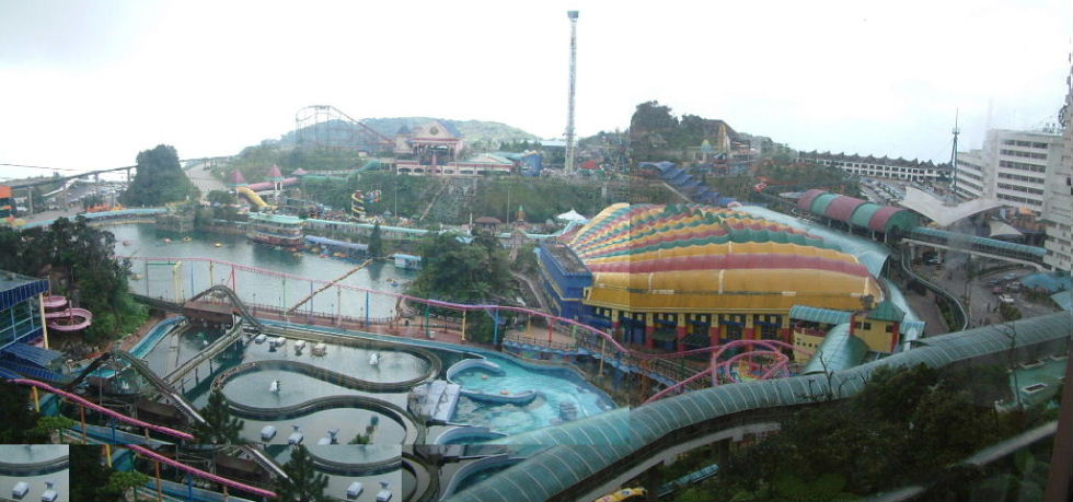 Amusement park at the top of Genting>>>
