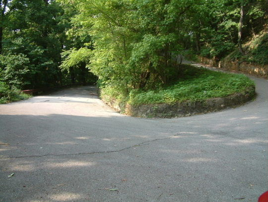 Yet even more switchbacks on Mill Mountain>>>