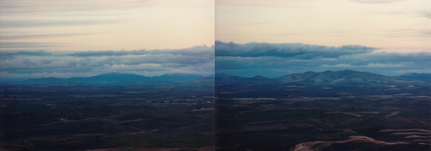 Looking into western Idaho from eastern Washington>>>